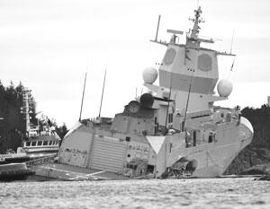 Норвежский фрегат Helge Ingstad утонул из-за разгильдяйства команды, а вовсе не из-за России