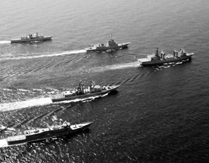 Без грубого нарушения конвенции Монтрё американцы не смогут отправить армаду в Черное море