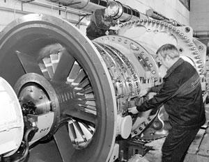 Россию хочет вернуть утраченные в 90-е годы технологии производства турбин большой мощности