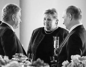Стефан Лёвен и Эрна Сульберг впервые увидели Владимира Путина