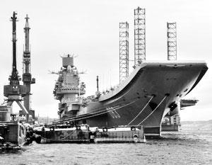 ТАВКР «Адмирал Кузнецов» еще долго будет единственным в составе ВМФ РФ авианосцем
