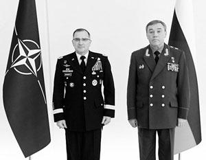 Переговоры главы Генштаба ВС РФ Герасимова и верховного главнокомандующего ОВС НАТО Скарпаротти