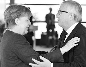 Жан-Клод Юнкер не хочет отпускать Меркель на пенсию