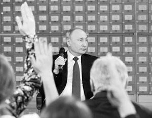 Путин в очередной раз показал погруженность в проблемы в самых разных отраслях