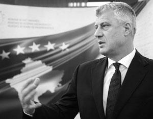 Лидер Косова Хашим Тачи считает, что ему надо еще немного Сербии