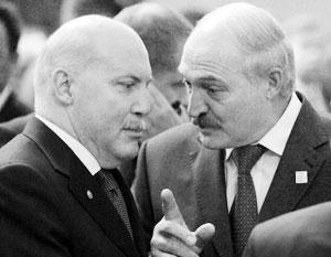 Александр Лукашенко хорошо знаком с Дмитрием Мезенцевым по его работе в ШОС