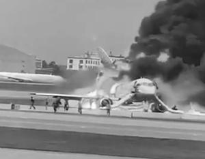 Благодаря профессиональным действиям экипажа большинство пассажиров удалось спасти