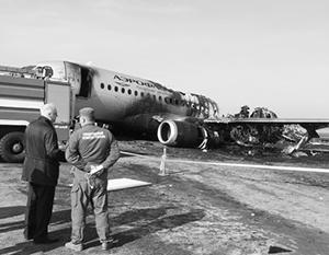 Пожар на борту случился из-за того, что пилоты не справились с лавиной технических отказов