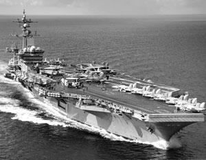 Американский атомный авианосец класса «Нимиц»