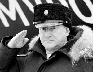 Российское адмиралтейство возглавил 57-летний подводник Николай Евменов