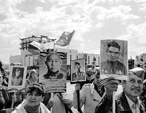 «Бессмертный полк» в Туве становится полноценной народной традицией