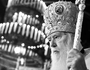 Самозваный патриарх Филарет возмущен - в новых украинских условиях он оказался лишен всякого влияния и власти
