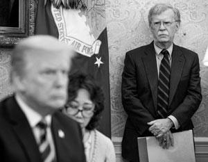 С момента прихода в Белый дом Болтон стал самым влиятельным советником Трампа