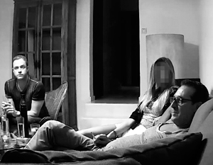Кадр из скандальной видеозаписи