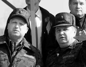Силовики Турчинов и Полторак оказались слабым звеном. У главы МВД Авакова больше шансов продолжить карьеру