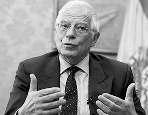 Жозеп Боррель повел себя по отношению к России крайне цинично
