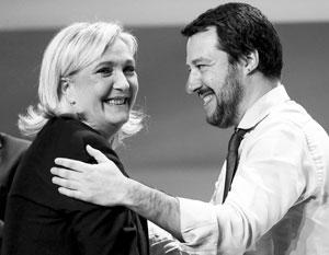 У Марин Ле Пен и Маттео Сальвини есть повод для радости