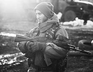 Ополченец Донбасса стал одним из символов украинской гражданской войны