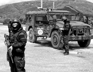 Власти Косово называют происходящее полицейской операцией