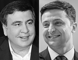 «Спасибо президенту Зеленскому! Слава Украине!» – так Саакашвили отреагировал на возвращение ему гражданства
