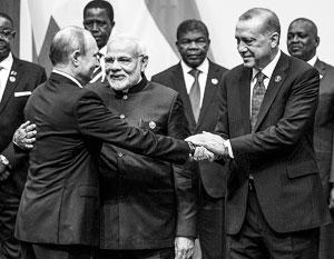 Нарендра Моди и Реджеп Эрдоган не откажутся от заключенных с Путиным соглашений
