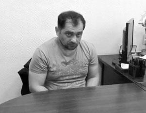 Опубликовано видео допроса подозреваемого в убийстве спецназовца ГРУ