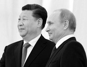 Владимир Путин встречает Си Цзиньпина в Кремле