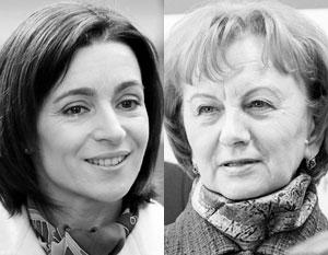 Майя Санду и Зинаида Гречаный могут удержать Молдавию от кровопролития