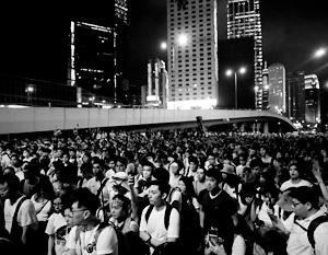 В Гонконге спустя несколько лет снова начались массовые протесты