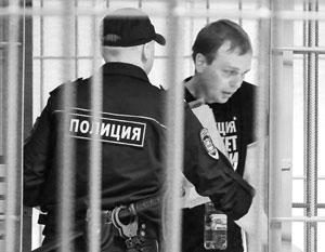 Иван Голунов в здании суда