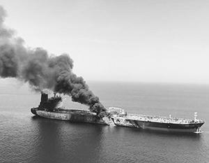 У очередной диверсии против танкеров могут быть далеко идущие последствия