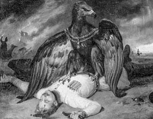 «Польский Прометей, или Аллегория на побежденную Польшу» - картина французского художника Ораса Верне о польском восстании против России в 1830-м году