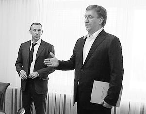 Владислав Бухарев (справа) будет крайне необычным главой внешней разведки Украины