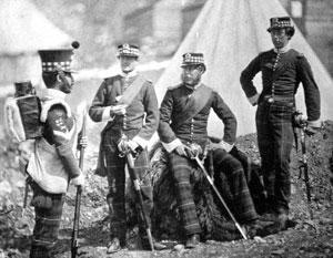 Английские солдаты пришли когда-то на крымскую землю без приглашения