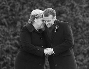 За два года Макрон и Меркель привыкли часто встречаться