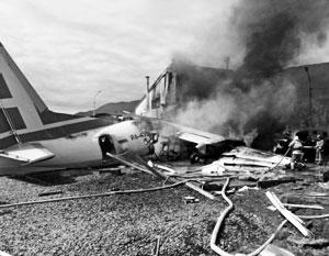 Причиной катастрофы Ан-24 мог стать отказ одного из двигателей и последующая ошибка пилотов