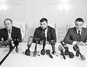 Медведчук, Пушилин и Пасечник решили первыми сдвинуть мирный процесс с мертвой точки