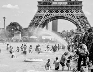 Страшная жара затронула в первую очередь Францию