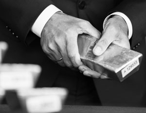 Золото становится для России страховкой в случае краха мировой валютной системы