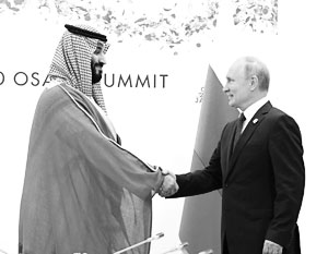 Лидеры России и Саудовской Аравии определили цены на нефть на ближайшие полгода