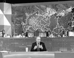 «Прямая линия» стала важным инструментом президентской власти
