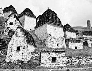 Некрополь у осетинского селения Даргавс мог бы стать кандидатом Всемирного наследия