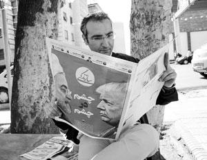 Фото:  ABEDIN TAHERKENAREH/EPA/ТАСС