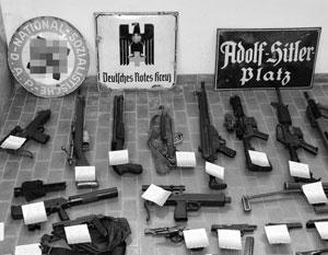У украинцев в Италии был изъят целый арсенал оужия