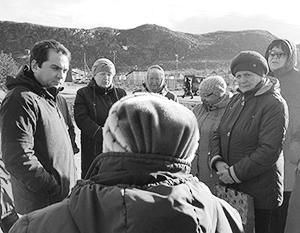 И. о. губернатора Мурманской области Андрей Чибис активно встречается с местными жителями