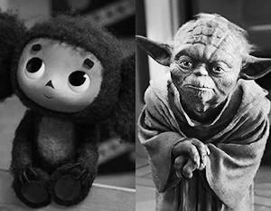 Фото: Чебурашка/Союзмультфильм,Звёздные войны/Lucasfilm Ltd.
