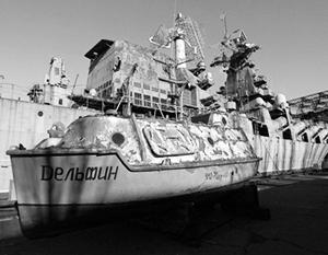 Аграрная страна Украина наконец окончательно убедилась в том, что ракетные крейсера советского времени являются для нее лишь обузой