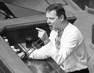 Радикалу Олегу Ляшко не удастся поскандалить с трибуны новой Рады
