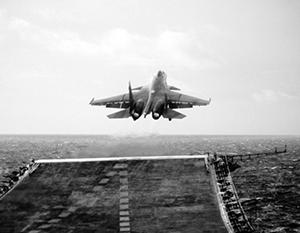 Полеты с авианосца «Адмирал Кузнецов» во многом стали возможны благодаря усилиям конкретных летчиков