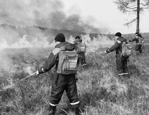 МЧС и армия делают все возможное для ликвидации возгораний